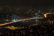 Bosphorus Bridge from Camlica Hill by Evren Kalinbacak