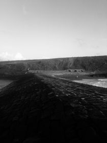Brick path to the Sea von Theo Ellis