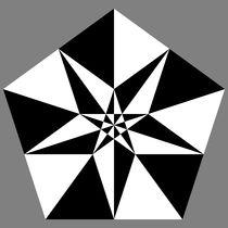 fragmented pentagon by Chandler Klebs