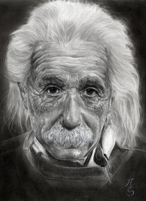 Albert Einstein by Angelica Stanton