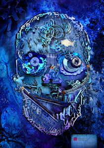 Denim skull by alexey-shpagin
