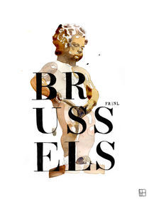 Brussels bilingual by Philippe Debongnie