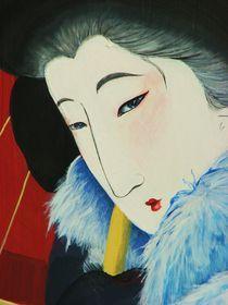 japanese woman  von Eszter Fézler