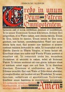 Symbolum Nicaenum von Alaister Lim