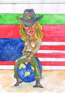 Madonna by Dorina Boneva