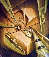 OS1980DC006 Celestial Globe NO.6 24x28.25 by alfredo Da Silva