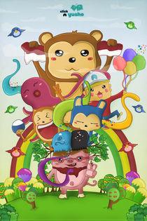 Happy Family by Aldridge Christian Seubelan