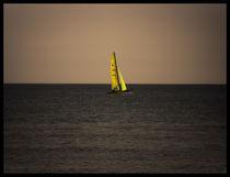 Yellow Sail von Miroslav Lucan