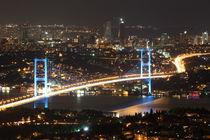 Bosphorus Bridge from Camlica Hill von Evren Kalinbacak