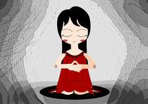 Calm Girl von Nimas Arum