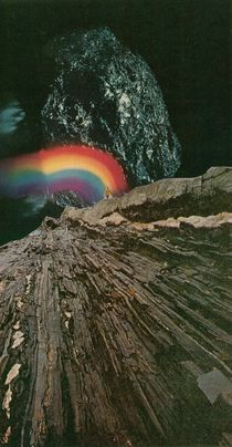 rainbow at the center of the earth von Jesse  Treece