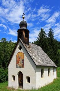 Kleine Kapelle in Südtirol von Wolfgang Dufner