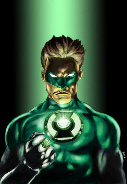 """The Green Lantern"" Comic art prints and posters by Andre ..."