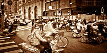 chinese traffic rumble by Philipp Kayser
