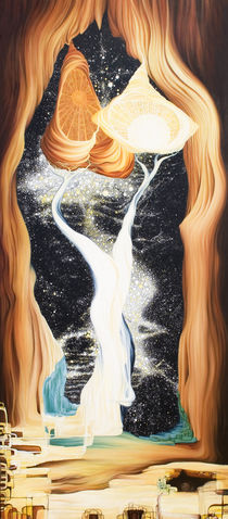 The Illumination of Gaia Revealing the Key of Life von Outrega Anderson
