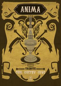 Anima skull poster Carl gustav jung by etfr