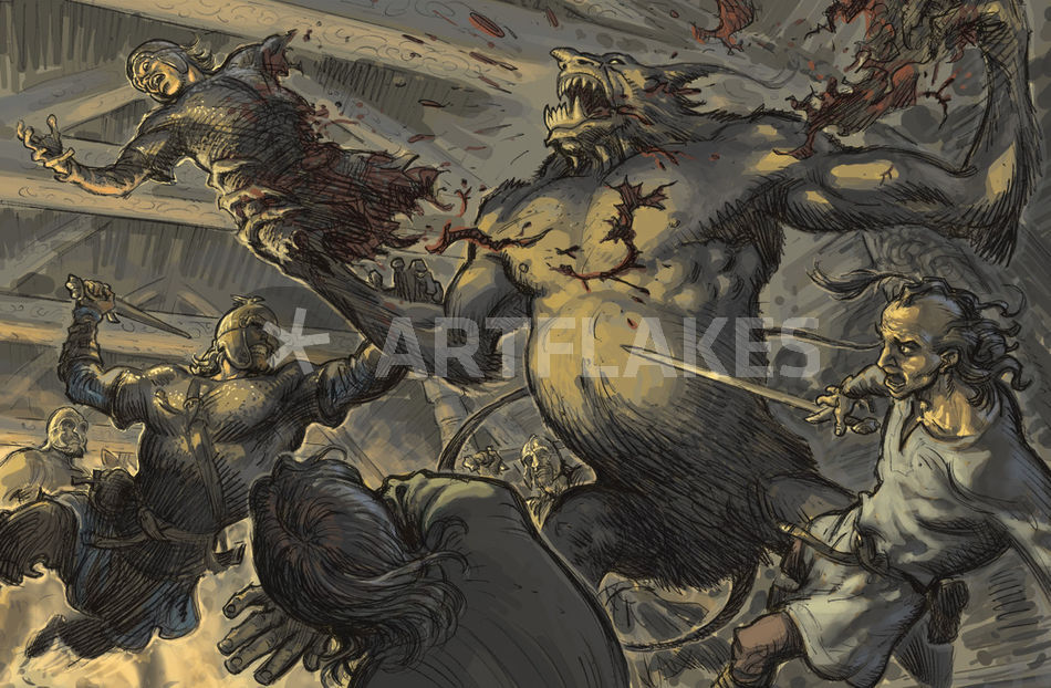 the description of communal affairs in the epic poem beowulf The anglo-saxon epic poem beowulf,  join britannica's publishing partner program and our community of experts to gain a global audience for your work.