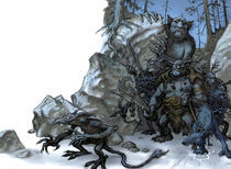 Giants and trolls von christian-hoejgaard