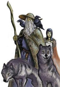 Odin von christian-hoejgaard