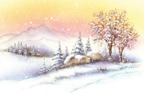 Wintertraum by E. Axel  Wolf