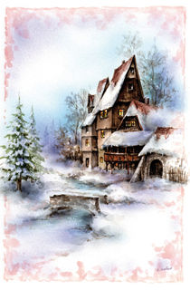 Winterzauber by E. Axel  Wolf