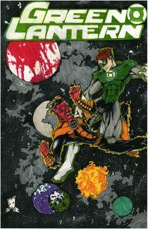 Green Lantern by John Epple