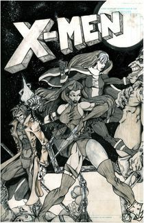 X Men by John Epple