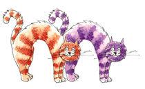 Letter M Cats von Yusuf Tansu  Ozel