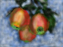 Äpfel-digitalmalerei von theresa-malerei