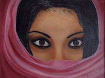 Aisha-Ölmalerei by theresa-malerei
