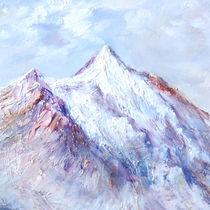 Gipfel im Winter von E. Axel  Wolf