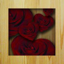 Herz-Rosen von E. Axel  Wolf