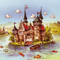 Märchen-Burg by E. Axel  Wolf