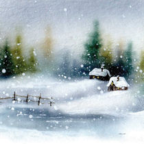 Winter by E. Axel  Wolf