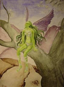 Eagle Fairy by streamfairy
