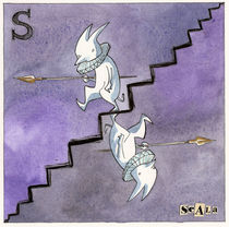 S is for Stairs by Ginevra Ballati