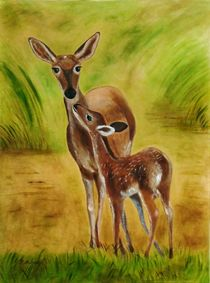 Mutterliebe   mother-dear by theresa-malerei