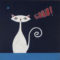 Bilingual cat von María Maza