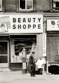 """Beauty shoppe"" New York 1964 by Thomas Schaefer"
