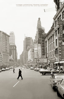 Broadway, New York City 1964 von Thomas Schaefer