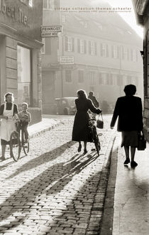 Street Scene, Germany 1954 by Thomas Schaefer  (www.ts-fotografik.de)