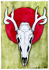 Stag by Allison Gardiner