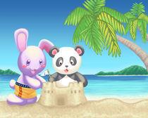 Deloris' beach vacation von Alexandra Salas