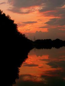 Pfälzer Sonnenuntergang  von Emanuel Lonz