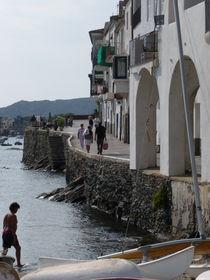 Fischerdorf an der Costa Brava von Emanuel Lonz