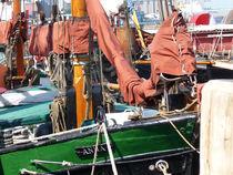 Fischkutter im Flensburger Hafen von Emanuel Lonz