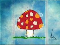 mushroom cloud by Claudia Alegre