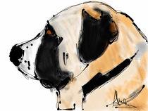 shepherd dog by Claudia Alegre