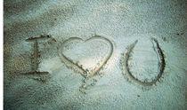 """Ho scritto """"T'amo"""" sulla sabbia by Katia Zaccaria-Cowan"""