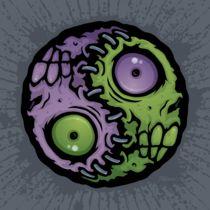 Zombie Yin-Yang by John Schwegel